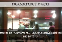 Carta Frankfurt Paco
