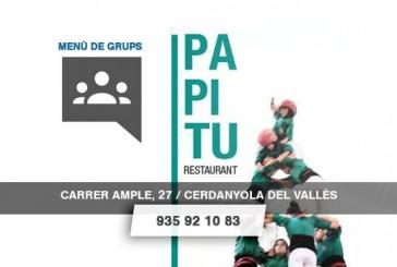 Papitu – Menús de Grup